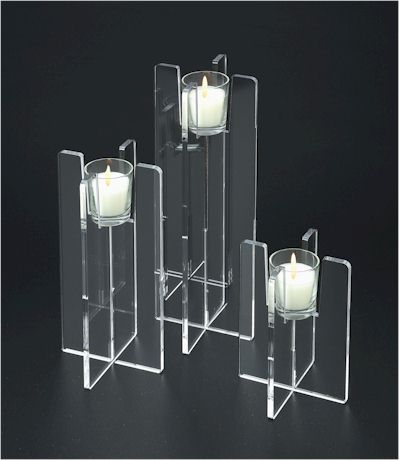 Straight Candle Holder Set